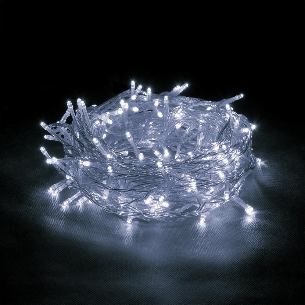 Гирлянда светодиодная 320 led 13м белая
