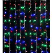 Гирлянда занавес светодиодный 160 led 1,5х1,5 мультицвет