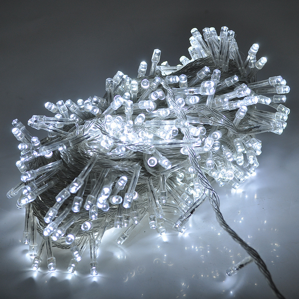 Гирлянда светодиодная 500 led 22м белая