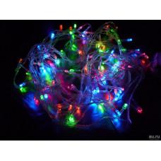 Гирлянда светодиодная 100 led 5м разноцветная