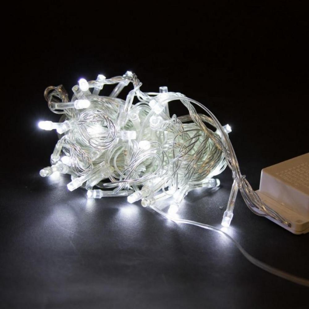 Гирлянда светодиодная 100 led 5м белая