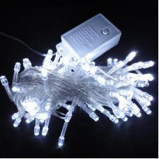 Гирлянда светодиодная 160 led 8м белая