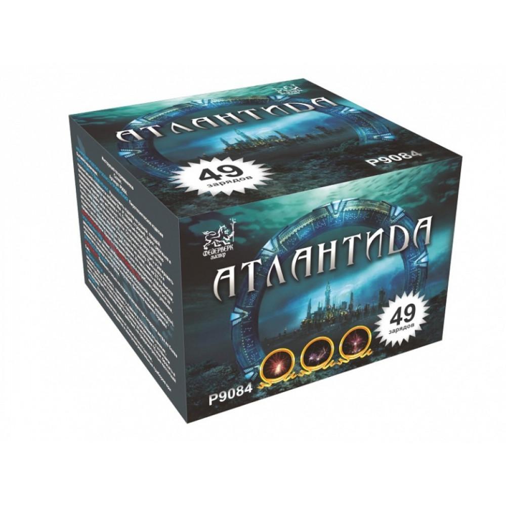 Салют АТЛАНТИДА Р9084. производитель Фейерверк Мастер.