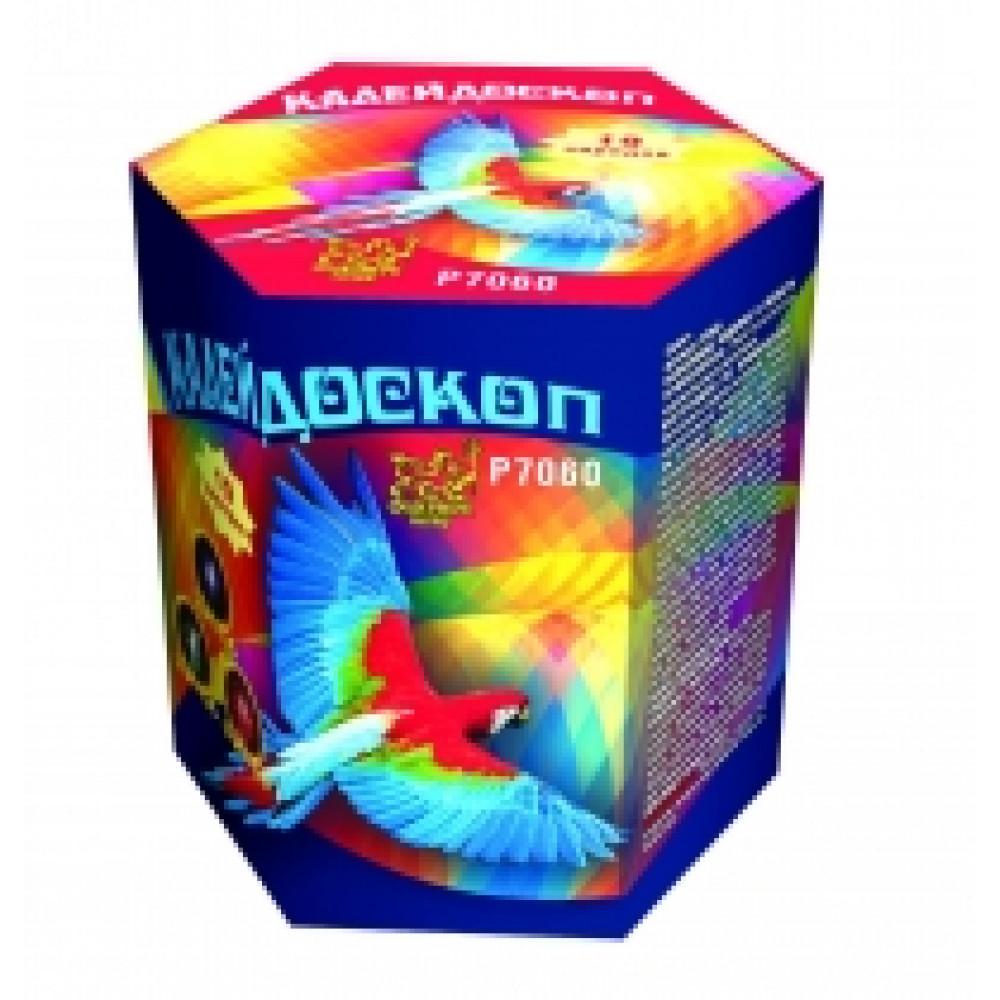 Салют КАЛЕЙДОСКОП Р7060. производитель Фейерверк Мастер.
