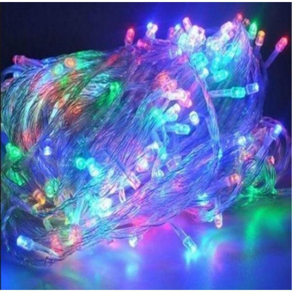 Гирлянда светодиодная 240 led мультицвет. производитель .