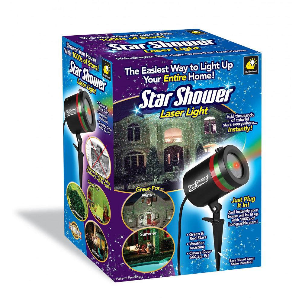 Лазерный звездный уличный проектор Star Shower. производитель .