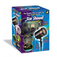 Лазерный звездный уличный проектор Star Shower
